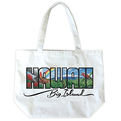 Canvas Tote, Eddy Y - Hawaii Big Island