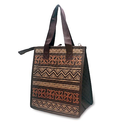 Insulated Lunch Bag, Tapa Brown