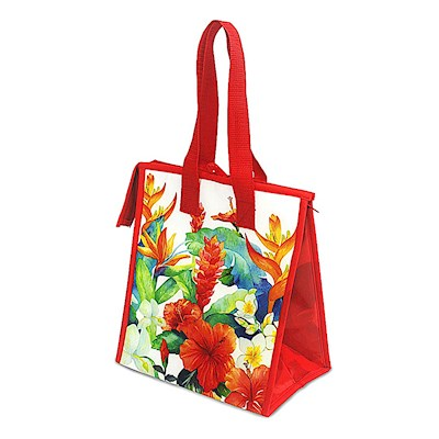 Insulated Lunch Tote Island Garden