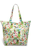 Deluxe Foldable Tote Island Hula Honeys