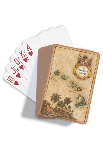 Playing Cards, The Hawaiian Islands