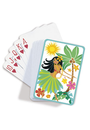 Playing Cards, Island Hula Honeys