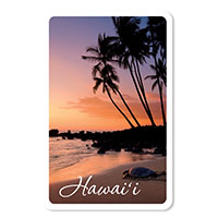 Playing Cards, Honu Sunset