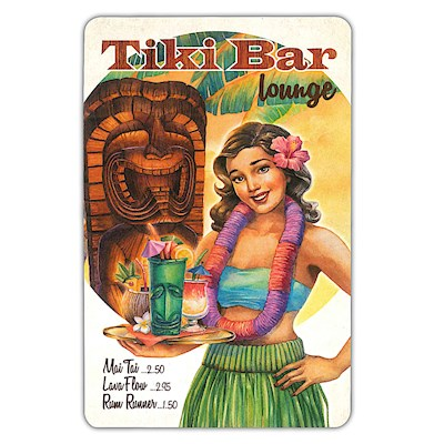 Playing Cards, Tiki Bar