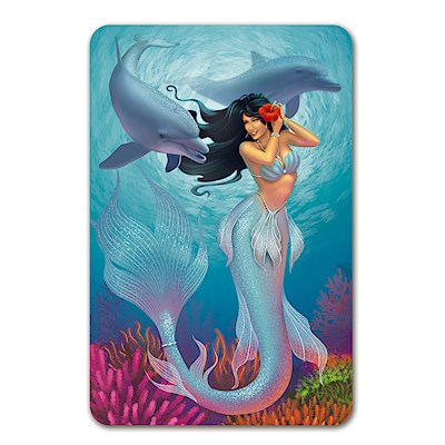 Playing Cards, Island Heritage Mermaids - Jewel