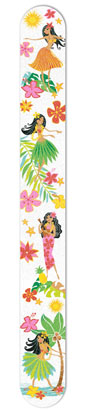 Emery Board - Oblong, Island Hula Honeys
