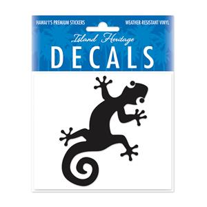 Decal Small Oblong, Gecko Black