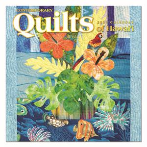 2021 Deluxe Calendar, Contemporary Quilts of Hawaii