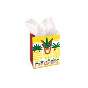 Small Gift Bag, Mele Pineapple Parade