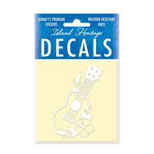 Decal Square, Ukulele White