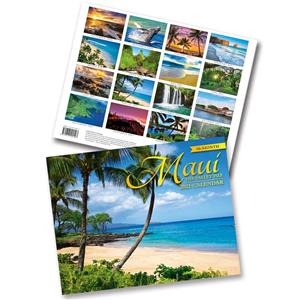 2021 Trade Calendar, Maui, the Valley Isle