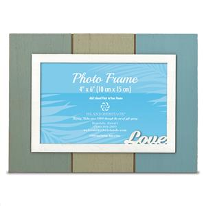 Painted Wood 4x6 Frame, Love (H)