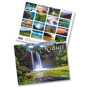 2021 Trade Calendar, Kauai, the Garden Isle