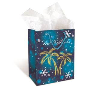 Medium Gift Bag, Joyful Palms
