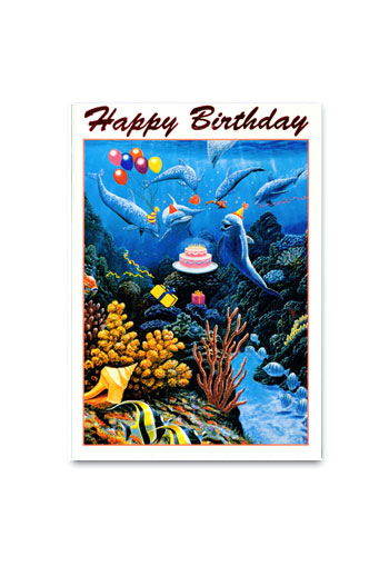 Dolphin Birthday by Andrew Annenberg (V)