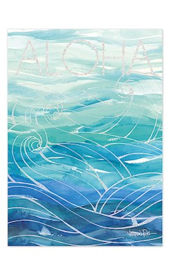 Ocean Dream Blank Greeting Card by Lauren Roth