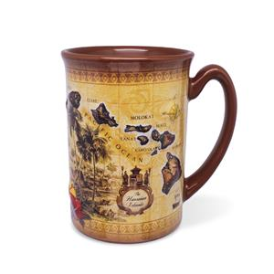 14 oz. Embossed Mug, The Hawaiian Islands