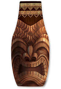 Island Bottle Cooler, Happy Tiki