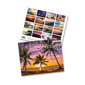 2021 Trade Calendar, Sunsets of Hawaii