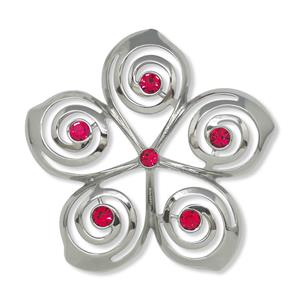 Jeweled Ornament, Plumeria