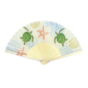 Island Fabric Fan, Honu Voyage