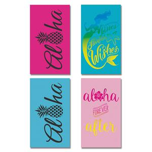 Set of 4 Oversized Beach Towels