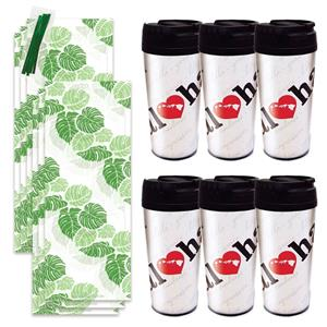 Heart of Hawaii Thermal Tumbler Gift Kit