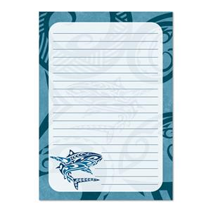 Tribal Shark Notepad