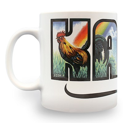 14 oz. Mug, Eddy Y - Kauai Hawaii