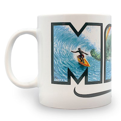 14 oz. Mug, Eddy Y - Maui - Hawaii