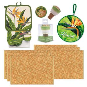 Bird of Paradise Kitchen Gift Set