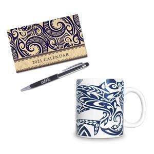 Tribal Mini Desk Gift Set