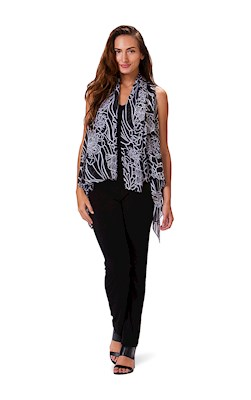 Coral Reef Black Essential Cover Up