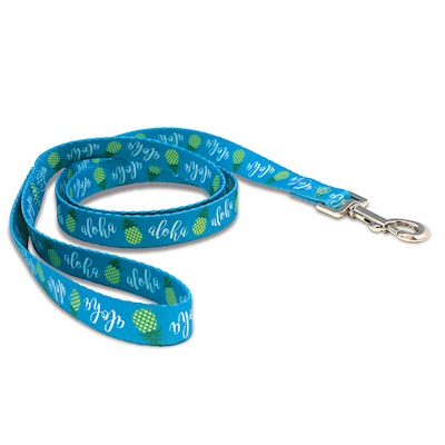 Pet Leash, Pineapple Aloha - M