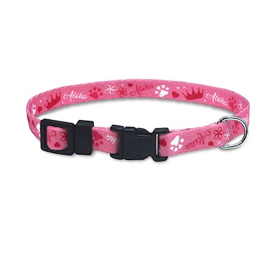 Pet Collar, Princess Paws - M
