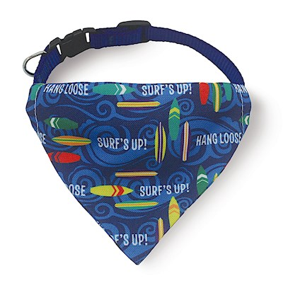 Pet Bandana, Surf's Up - L