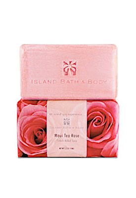 150g French Milled Soap, Maui Tea Rose ORG *