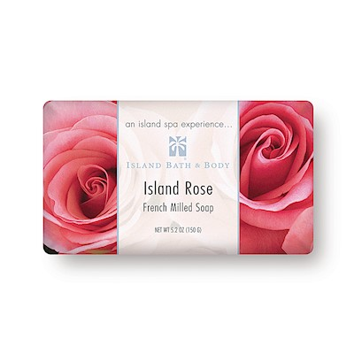 150g French Milled Soap, Island Rose CLS