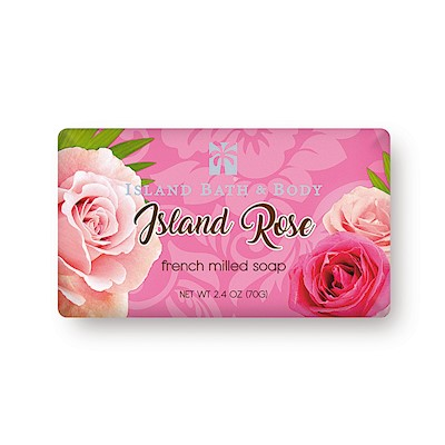 70g French-Milled Soap, Island Rose CON