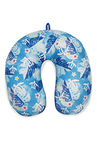 Travel Neck Pillow, Honu Floral