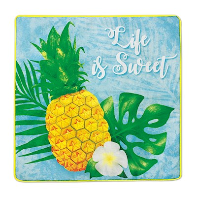 Coastal Pillow Cover, Life Is Sweet