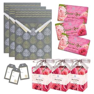 Island Rose Soap & Maui Tea Rose Bath Salts Gift Kit