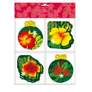 Gift Tag 12-pk, Floral Monstera