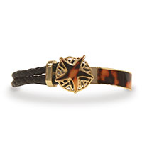 Leather Bracelet, Starfish