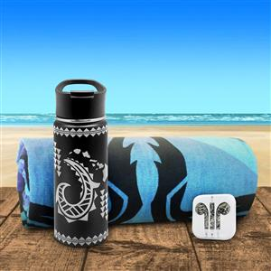 Sporty Tribal Gift Set in Black