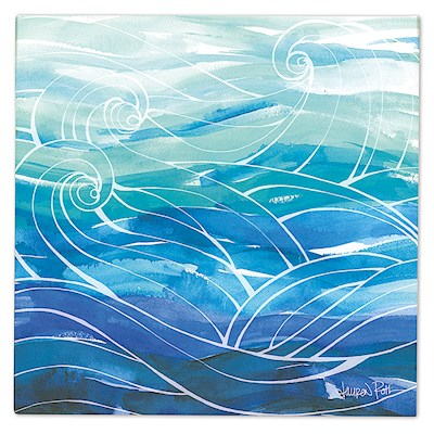 Lauren Roth Wall Art Canvas Print, Ocean Dreams