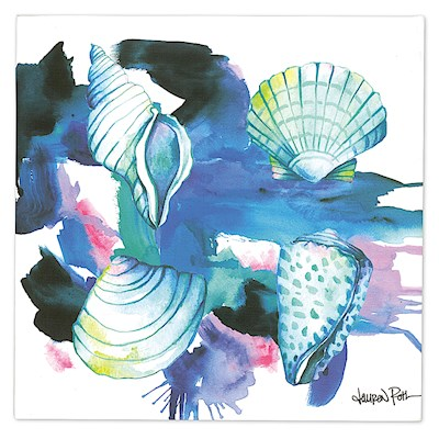 Lauren Roth Wall Art Canvas Print, Shells