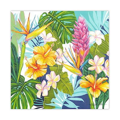 Lauren Roth Wall Art Canvas Print, Island Blossoms