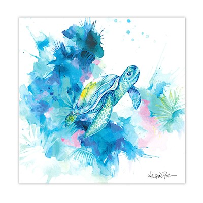 Lauren Roth Wall Art Canvas Print, Honu Dreams