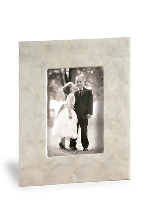 Photo Frame 5 x 7, Shell Natural